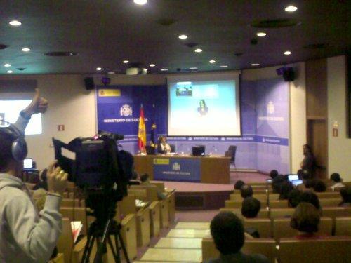 Videoconferencia Madrid (España) - Buenos Aires (Argentina)