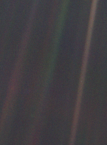 """Pale Blue Dot"" by Voyager 1"
