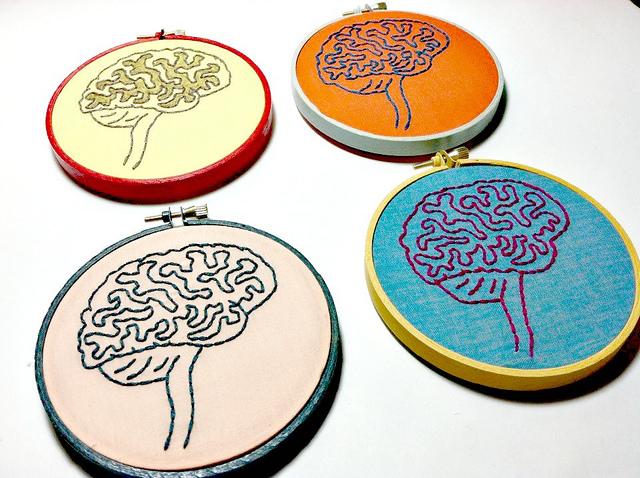 Cerebros en llaveros