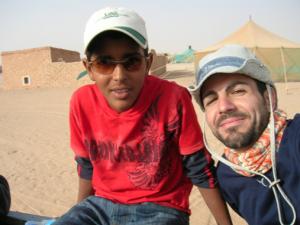 Moham & aabrilru en Sáhara