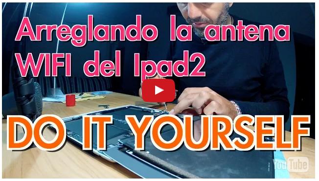 Cómo arreglar el Ipad por menos de 2€ (WIFI) - Vídeo