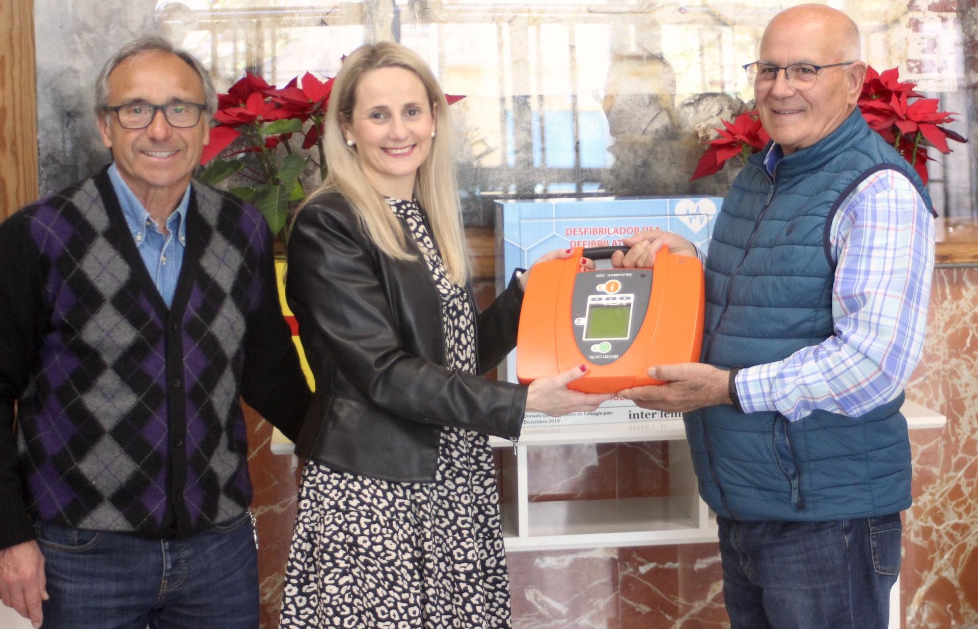 Donación de desfibrilador de INTERLEMON al Ayto. de Cehegín. 11 de marzo de 2020. Centro Cultural Adolfo Suarez.