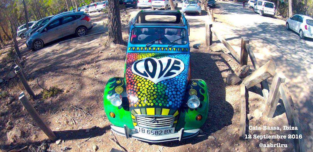 Citroen 2 caballos Ibiza Love