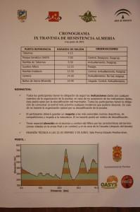Planing IX Travesía de resistencia de Almería, 2011
