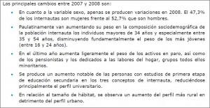 internauta español: evolución entre el 2007 y el 2008