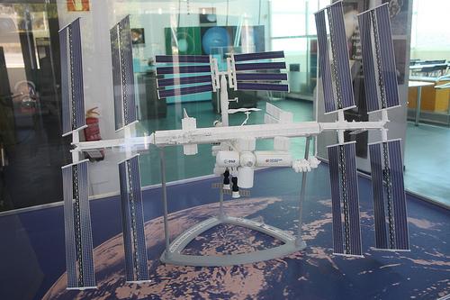 Maqueta ISS Robledo de Chavela