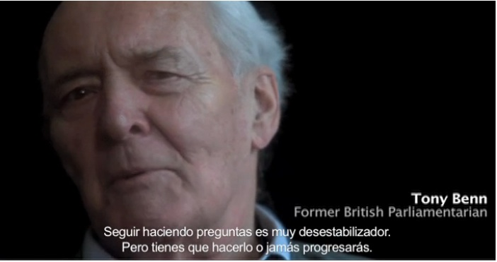 Tony Benn en 'The lottery of birth' (La lotería del nacimiento)